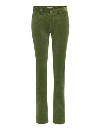 Hanley Cord-Hose moosgrün