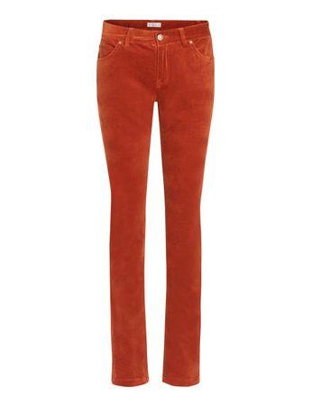 Hanley Velvet-Pants Saffron