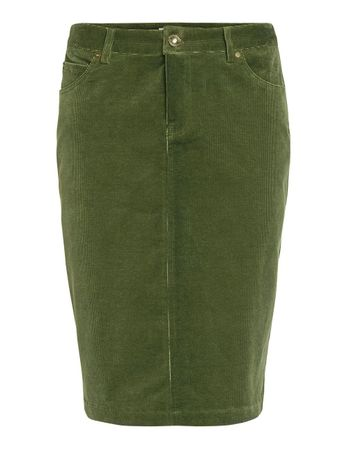 Ornois Cord Skirt Moss Green – Bild 1