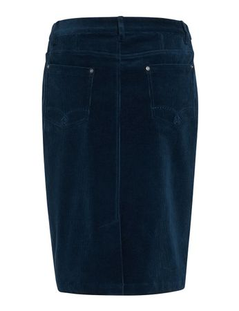 Ornois Cord Skirt Navy – Bild 2