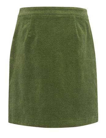 McKearn Cord Skirt Moss Green – Bild 3