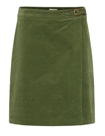 McKearn Cord Skirt Moss Green – Bild 1