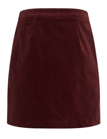 McKearn Velvet Skirt Burgundy – Bild 2