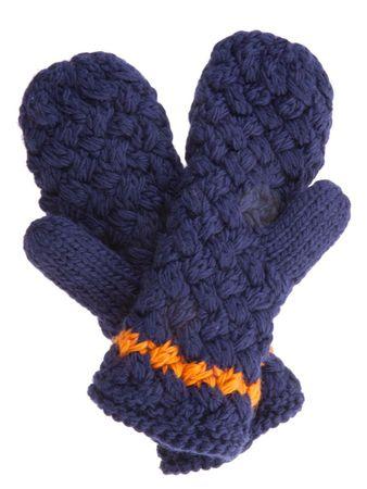 Ardin Strick-Handschuhe marineblau – Bild 1