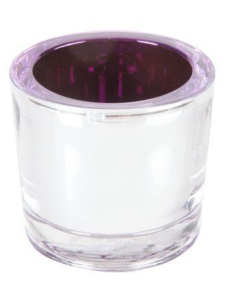 Etamer Teelicht violett – Bild 1