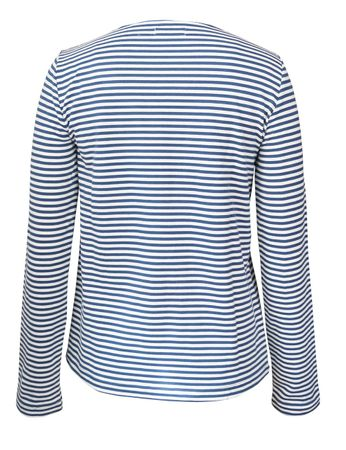 Portola Longsleeve T-Shirt medium-blue/white – Bild 3