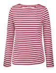 Portola Longsleeve T-Shirt coral/white 001