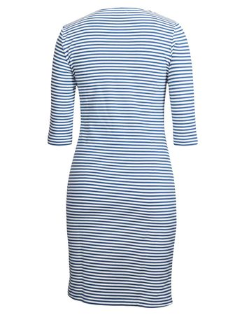 Portola Dress medium-blue/white stripe – Bild 3