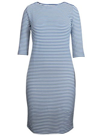 Portola Dress medium-blue/white stripe – Bild 1