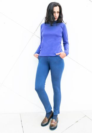 Riffles Stretch-Breeches Blue – Bild 5