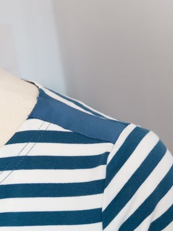 Portola Longsleeve Shirt blue-striped – Bild 4