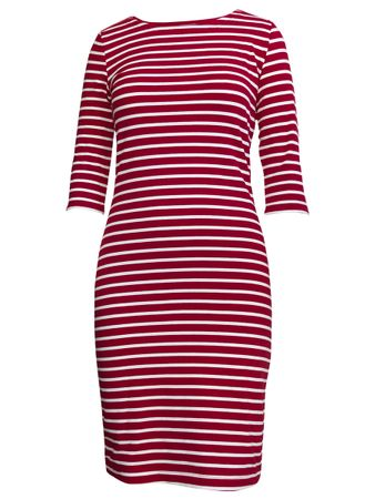 Portola Dress red stripe – Bild 1