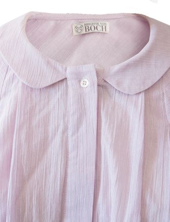 Morongo Blouse Rose/White striped – Bild 3