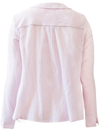 Morongo Blouse Rose/White striped – Bild 2