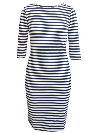 Portola Kleid blau-weiss – Bild 1