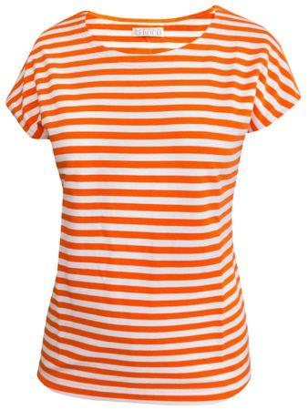 Portola T-Shirt orange-weiss – Bild 1