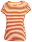 Portola T-Shirt orange-weiss 001