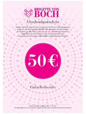 Gift voucher 50 € via email