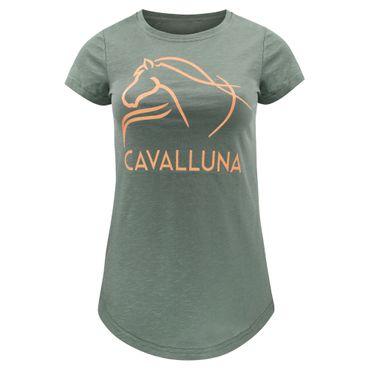 "CAVALLUNA Longshirt ""Olive"""
