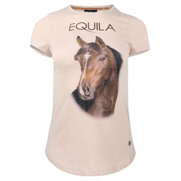 "EQUILA T-Shirt ""Brauner"""