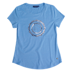 "CAVALLUNA T-Shirt ""Light Blue"""