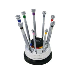 Beco, Rotating Stand with 9 screwdrivers and 9 spare blades, No. 205930