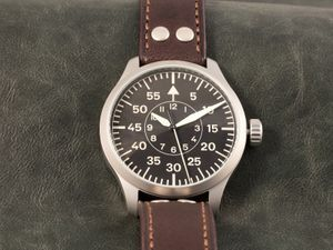 ARISTO 3H142, vintage aviator, hand-wound, sweep second – Bild 5
