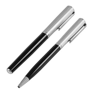 Ball point and Roller ball pen with cufflinks sets in two tone box, Jos Von Arx, EX02 – Bild 3