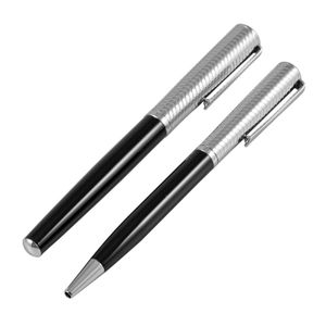 Ball point and Roller ball pen with cufflinks sets in two tone box, Jos Von Arx, EX03 – Bild 3