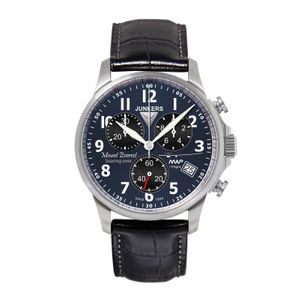 JUNKERS Mountain Wave Project Quarz, 6894-3, Chronograph, blau