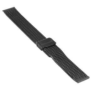 SOC Milanaise strap, H 3,0 mm, W 18 mm, black, 2908 – Bild 1