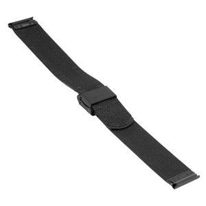 SOC Milanaiseband, H 1,5 mm, B 18 mm, schwarz, 2908  – Bild 2