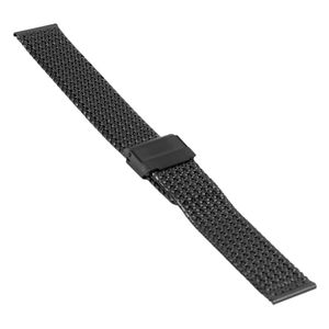 SOC Milanaiseband, H 1,9 mm, B 18 mm, schwarz, 2910 – Bild 1