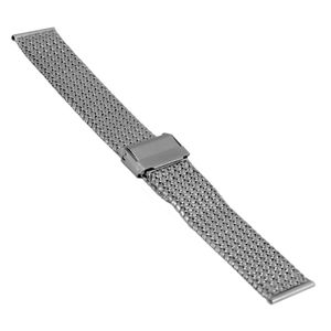 SOC Milanaiseband, H 2,5 mm, B 20 mm, silber, 2910 – Bild 1