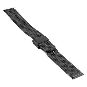SOC Milanaiseband, H 2,5 mm, B 20 mm, schwarz, 2910 – Bild 2