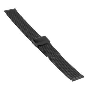 SOC Milanaiseband, H 1,9 mm, B 20 mm, schwarz, 2905 – Bild 1