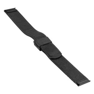 SOC Milanaiseband, H 1,9 mm, B 18 mm, schwarz, 2905 – Bild 2