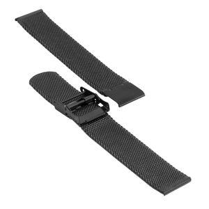 SOC Milanaiseband, H 1,9 mm, B 18 mm, schwarz, 2905 – Bild 3