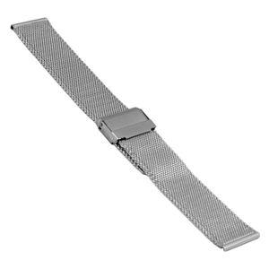 SOC Milanaiseband, H 1,9 mm, B 18 mm, silber, 2905 – Bild 1