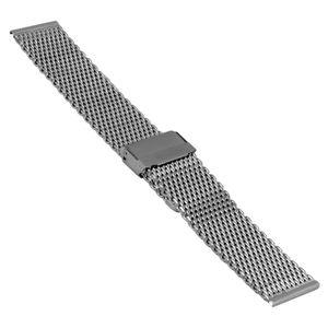 SOC Milanaiseband, H 2,7 mm, B 20 mm, silber, 2906 – Bild 1
