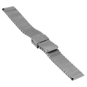 SOC Milanaiseband, H 2,7 mm, B 20 mm, silber, 2906 – Bild 2