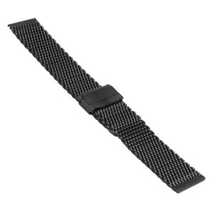 SOC Milanaise strap, H 2,7 mm, W 22 mm, black, 2906 – Bild 1