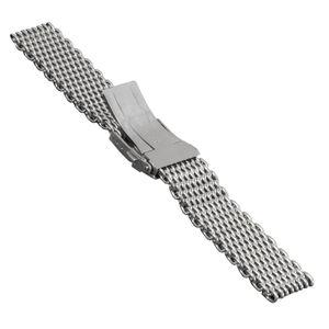 SOC Milanaise strap, H 4,3 mm, W 20 mm, silver, 2797 – Bild 2
