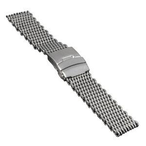 SOC Milanaise strap, H 4,3 mm, W 24 mm, silver, 2797 – Bild 1