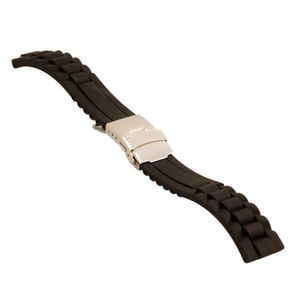 Waterproof watch Strap, rubber, EnjoyYourWatch, 20 mm, A20288 – Bild 1