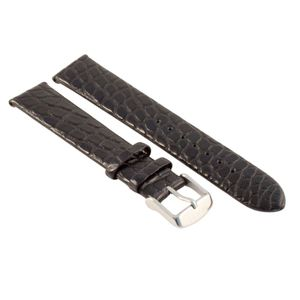 NIVREL Alligatorarmband schwarz, 20 mm (EU only)
