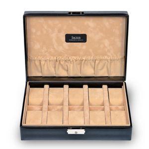 Sacher Uhrenbox für 10 Uhren, echt Leder, 2018.010443 – Bild 2