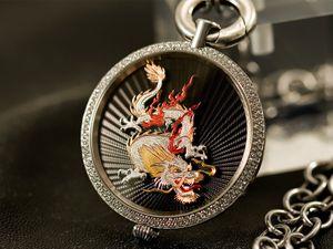 Black Dragon Amulett – Bild 3