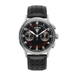 JUNKERS G38 Quartz, 6970-2, Chronograph, black