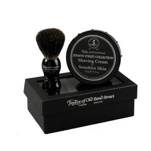 Taylor Jermyn Street gifting set, shaving brush and shaving creme
